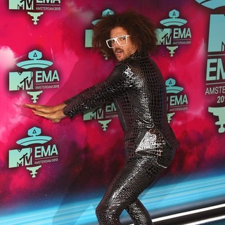 Redfoo, LMFAO in 20th MTV Europe Music Awards - Arrivals
