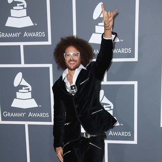 Redfoo, LMFAO in 55th Annual GRAMMY Awards - Arrivals