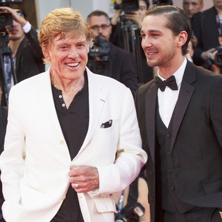 Robert Redford, Shia LaBeouf in The 69th Venice Film Festival - The Company You Keep - Premiere - Red Carpet