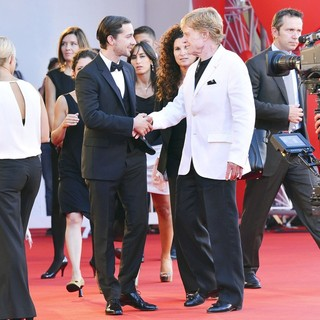 Shia LaBeouf, Robert Redford in The 69th Venice Film Festival - The Company You Keep - Premiere - Red Carpet