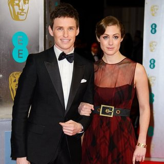 Eddie Redmayne, Hannah Bagshawe in EE British Academy Film Awards 2014 - Arrivals
