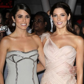 Nikki Reed, Ashley Greene in The Premiere of The Twilight Saga's Breaking Dawn Part II