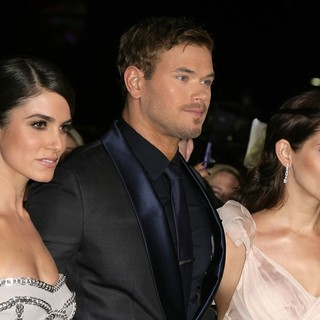 Nikki Reed, Kellan Lutz, Ashley Greene in The Premiere of The Twilight Saga's Breaking Dawn Part II