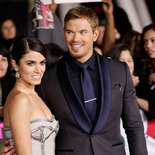 Nikki Reed, Kellan Lutz in The Premiere of The Twilight Saga's Breaking Dawn Part II