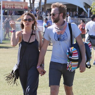 Nikki Reed, Paul McDonald in Celebrities at The 2012 Coachella Valley Music and Arts Festival - Week 2 Day 2