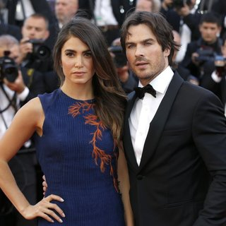 Nikki Reed, Ian Somerhalder in 68th Annual Cannes Film Festival - Youth - Premiere