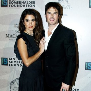 Nikki Reed, Ian Somerhalder-Ian Somerhalder Foundation Benefit