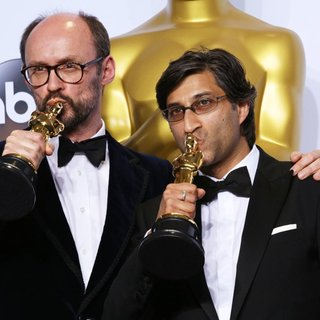 James Gay-Rees, Asif Kapadia in 88th Annual Academy Awards - Press Room
