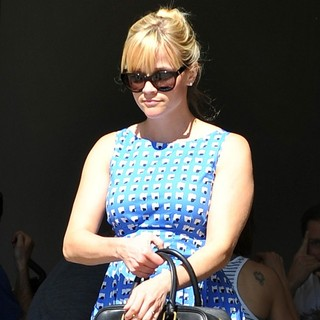 Reese Witherspoon in Reese Witherspoon Leaving A Church in Santa Monica