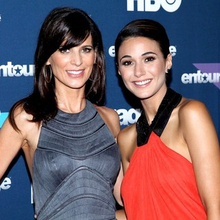 Perrey Reeves, Emmanuelle Chriqui in Final Season Premiere of HBO's Entourage