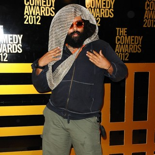 Reggie Watts in The Comedy Awards 2012 - Arrivals