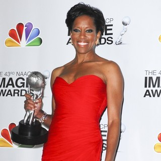 Regina King in The 43rd Annual NAACP Awards - Press Room