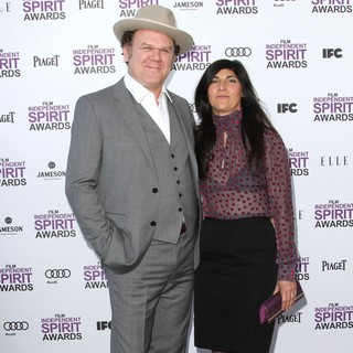 John C. Reilly, Alison Dickey in 27th Annual Independent Spirit Awards - Arrivals