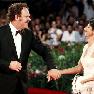 John C. Reilly, Alison Dickey in The 68th Venice Film Festival - Day 2 - Carnage - Red Carpet