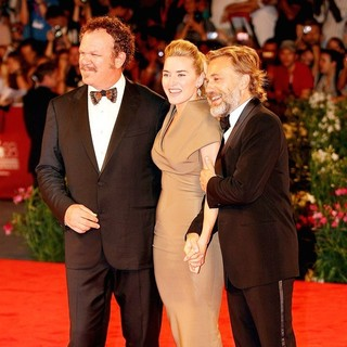John C. Reilly, Kate Winslet, Christoph Waltz in The 68th Venice Film Festival - Day 2 - Carnage - Red Carpet