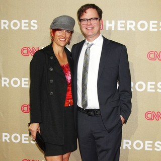 Holiday Reinhorn, Rainn Wilson in CNN Heroes: An All-Star Tribute - Arrivals