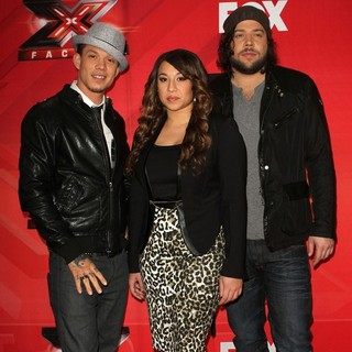 Melanie Amaro in FOX's The X Factor Press Conference - rene-amaro-krajcik-fox-s-the-x-factor-press-conference-07
