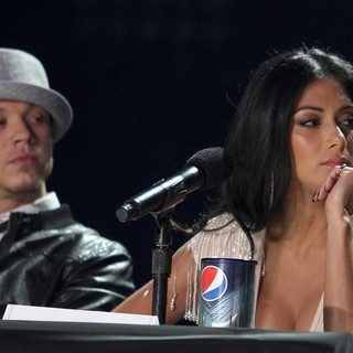 Chris Rene, Nicole Scherzinger in FOX's The X Factor Press Conference