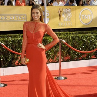 Renee Bargh in The 20th Annual Screen Actors Guild Awards - Arrivals