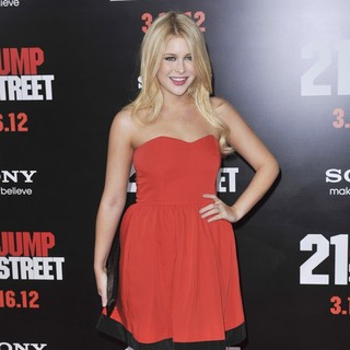 Renee Olstead in Los Angeles Premiere of 21 Jump Street - Arrivals