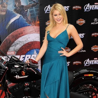 Renee Olstead in World Premiere of The Avengers - Arrivals