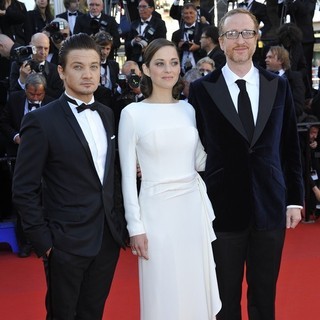 Jeremy Renner, Marion Cotillard, James Gray in 66th Cannes Film Festival - The Immigrant Premiere