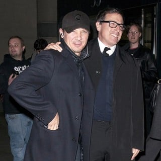 Jeremy Renner, David O. Russell in Screening of Silver Linings Playbook - Arrivals