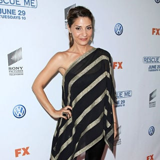 Callie Thorne in 'Rescue Me' Season 6 Premiere
