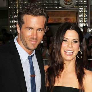 Ryan Reynolds, Sandra Bullock in The Change-Up Los Angeles Premiere