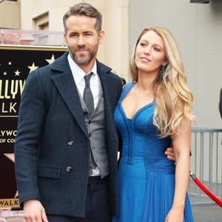 Blake Lively - Ryan Reynolds Honored with Star on The Hollywood Walk of Fame