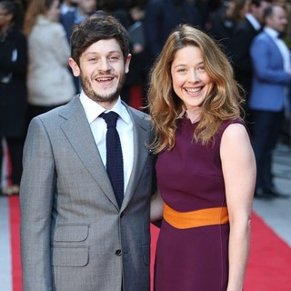 Iwan Rheon, Zoe Grisedale in The Jameson Empire Awards 2016 - Arrivals