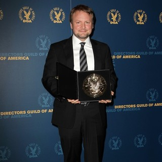 Rian Johnson in 65th Annual Directors Guild of America Awards - Press Room
