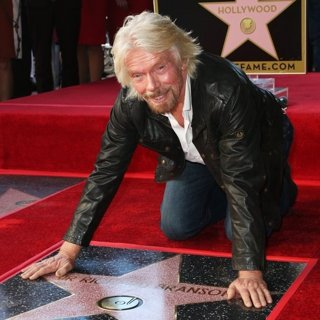 Richard Branson Honored with Star on Hollywood Walk of Fame