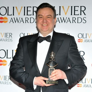 Richard McCabe in The Olivier Awards 2013 - Press Room