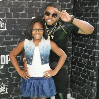 Emani Richardson, Lil Scrappy in 2014 BET Hip Hop Awards Presented by Sprite - Arrivals
