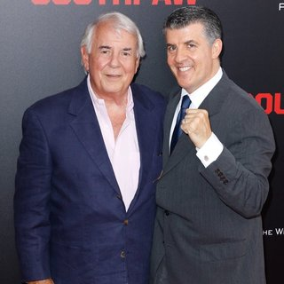 Alan Riche, Peter Riche in New York Premiere of Southpaw for THE WRAP - Arrivals