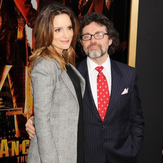 Tina Fey, Jeff Richmond in Anchorman: The Legend Continues Premiere Sponsored by Buffalo David Bitton