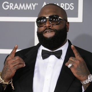 Rick Ross in 55th Annual GRAMMY Awards - Arrivals