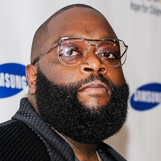 Rick Ross in Samsung's Annual Hope for Children Gala