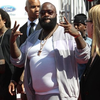 Rick Ross in The BET Awards 2012 - Arrivals