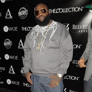 Rick Ross in Dwyane Wade's 30th Birthday Celebration