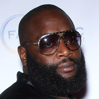 Rick Ross in P. Diddy Hosts Fight Night Afterparty
