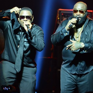 Rick Ross - Rick Ross Performing in Concert