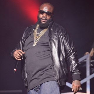 Rick Ross in Rick Ross Performs During Maybach Music Group Tour
