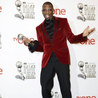Rickey Smiley in 45th NAACP Image Awards - Press Room