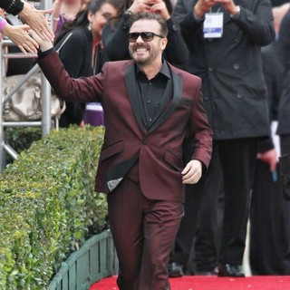 Ricky Gervais in The 69th Annual Golden Globe Awards - Arrivals