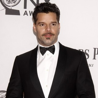Ricky Martin - The 66th Annual Tony Awards - Arrivals