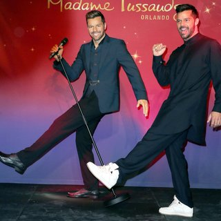 Ricky Martin - Ricky Martin Unveils His Wax Figure