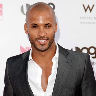Ricky Whittle in LOGO's 2012 NewNowNext Awards