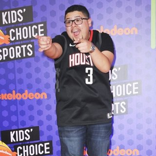 Rico Rodriguez in Nickelodeon Kids' Choice Sports Awards 2018 - Arrivals